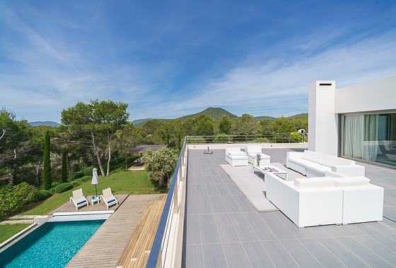 awesome villa Can Tehani in Ibiza, San Jose