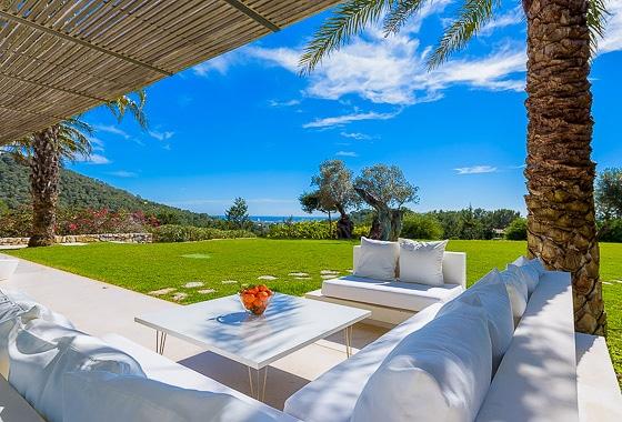 impresionante villa Casa Tyane en Ibiza, San Jose