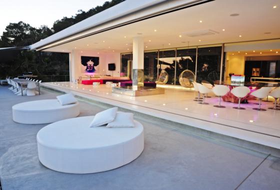 awesome villa Sa Caleta Hills in Ibiza, San Jose