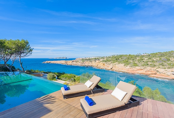 awesome villa Can Guru in Ibiza, San Jose
