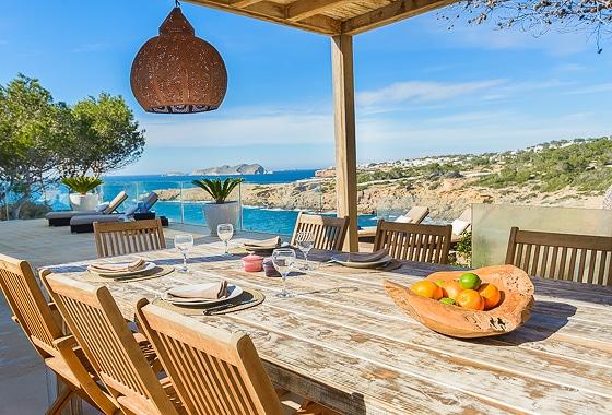 impresionante villa Can Guru en Ibiza, San Jose