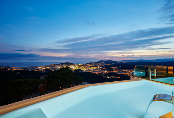 awesome villa Can Iberia in Lloret de Mar, -