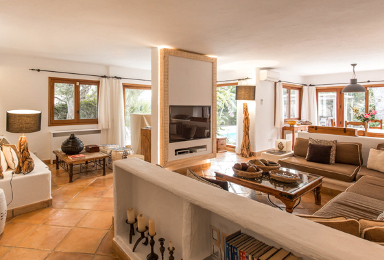 awesome villa El Oasis in Ibiza, San Jose
