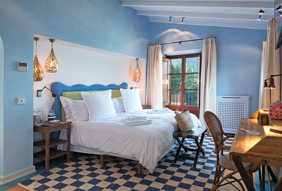 impresionante villa Can Blau en Mallorca, Deia