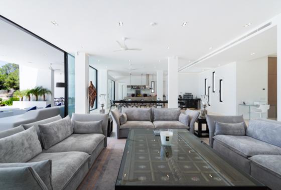 awesome villa Can Lavanda in Ibiza, San Jose