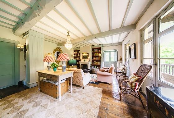 impresionante villa La Casona en Lledias, -