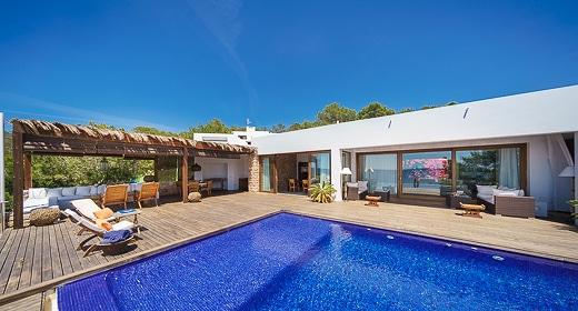 villa Casa Azul in San Jose Ibiza