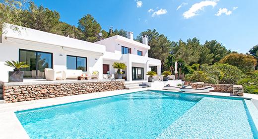 villa Las Palomas in San Jose Ibiza