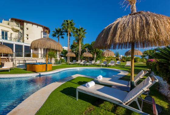 awesome villa El Cid in Marbella, -