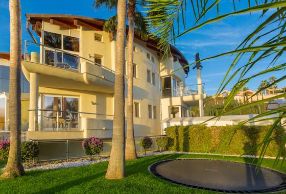 impresionante villa El Cid en Marbella, -