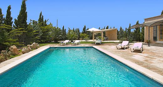 villa Es Llombards  in Santanyí Mallorca