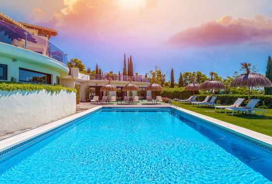 awesome villa Villa Flamingos in Marbella, -