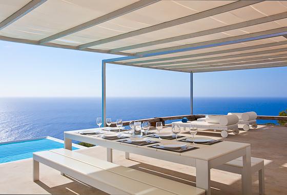 impresionante villa Ca Na Xamena en Ibiza, San Miguel