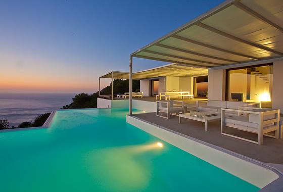 awesome villa Ca Na Xamena in Ibiza, San Miguel