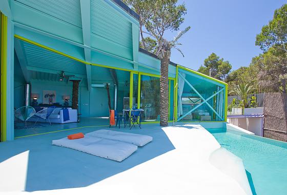 awesome villa Everland in Ibiza, San Jose