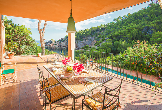 impresionante villa Can Laurel en Mallorca, Deia