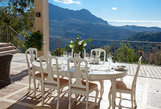 awesome villa Finca Gaucín in Málaga, Ronda
