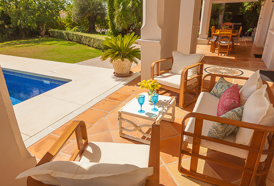 awesome villa Los Naranjos in Marbella, -