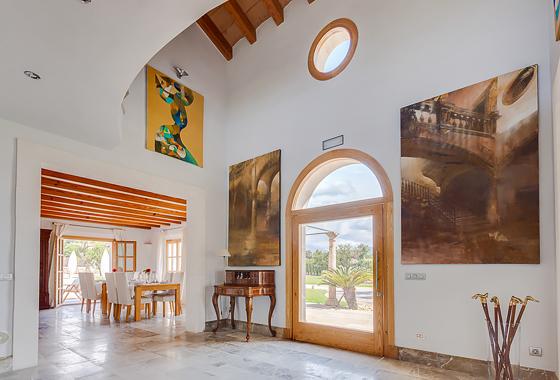 impresionante villa Portal de Tramuntana en Mallorca, Inca