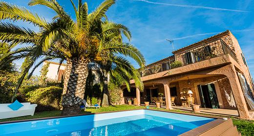 villa Gran Llombards in Santanyí Mallorca